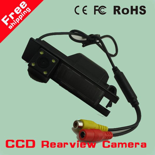 Night vision 4 LED SONY CCD Chip Car Rear View Reverse CAMERA for OPEL Astra H/Corsa D/Meriva A/Vectra C/Zafira B,FIAT Grande(China (Mainland))