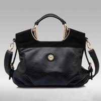 Hot Casual  2014  Desigual POLO Brand Women Handbag Leather Shoulder Bags Women Messenger Bag Items Tote Bolsas Bule Brown