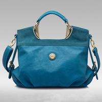 New 2014  Desigual POLO Brand Women Handbag Leather Shoulder Bags Women Messenger Bag Items Tote Bolsas Bule Brown