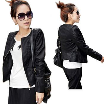 Женщины leather jacket Кожа PU является высокотехнологичным и высокосортным продуктом. ...