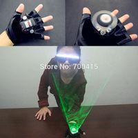 Handheld Laser Cannon. Laser Whirlwind. Vortex .Laser Man stage supplies LED Laser gloves nightclub performances dedicated