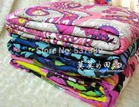 Sweet color leisure blanket picnic blanket air conditioning blanket  vb 127x150cm