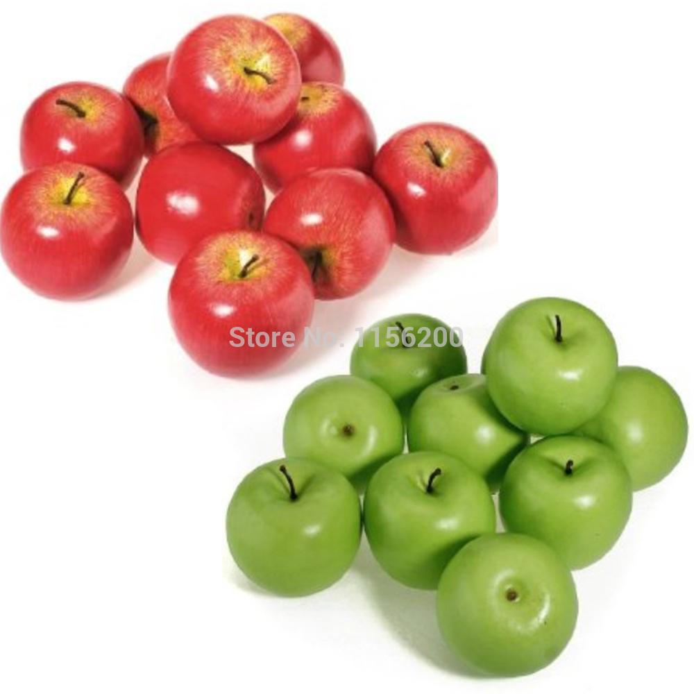 Keuken Decoratie Appel : Fake Green Apples Decorations