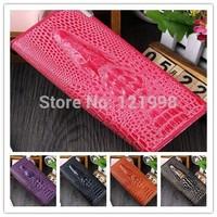 Genuine leather crocodile pattern fashion women long wallets,Spring 2014 classic women's retro design 3D purse Coolfly brand bag