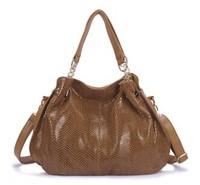 Hot Casual 2015 !  fashion high quality POLO Snakeskin leather women handbag,ladies messenger bag Promotion