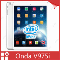 "In Stock ! Onda V975i Intel Z3735 Quad Core Tablet PC 9.7"" Retina 2048*1536 Screen 2GB RAM 32GB ROM 5.0MP Wifi Bluetooth"
