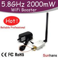 Hot sale! SH58Gi2000 Original Sunhans Repeater 2000mW 5.8G WiFi Booster Wireless Amplifier 2W
