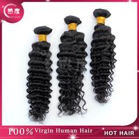 Malaysian Curly Hair  Bundles 3pcs lot,5A  Unprocessed Hot Hair Products Deep Curly  Malaysian Virgin Hair
