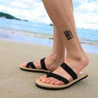 Hot Sale New 2014 Tops Summer Shoes Flat Sandals Men Flip Flops Men's Sandals Fashion Eva Massage Beach Slippers Shoes Flats