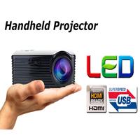 Free Shipping portableLED projector Mini projector ! Mini Multimedia LCD Projector Cinema Theater WITH AV/VGA/SD/USB/HDMI
