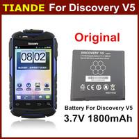 100%  Orginal Discovery V5 V5+ Battery 3.7V 1800mah Phone Battery Singapore Post Free Shipping