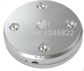 newest design rechargeable wirelsess round led wall light night light auto sensor(China (Mainland))