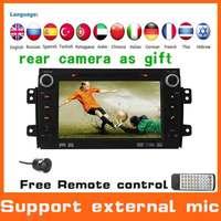 2 Din Car Audio dvd gps player for SUZUKI SX4+GPS Navigation+Automotivo Car Styling Autoradio Radio Stereo central multimedia