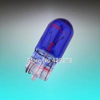 10pcs T10 W5W 194 Cool White 5W Halogen Bulb Signal Interior Car light Lamp