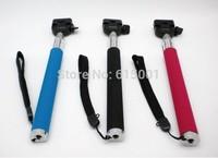Accessories Extendable Handheld Aluminum Alloy Flexible Telescopic Monopod Tripod Holder for Camera Black Free Shipping