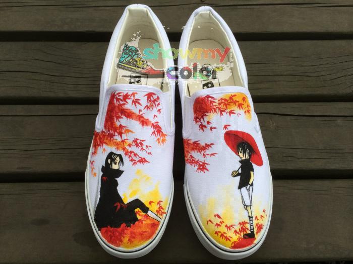Naruto Vans Shoes