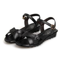 2014 Promotion Hot Sale Freeshipping Medium(b,m) Wide(c,d,w) Back Strap Shoes Woman Sandals Summer Shoes Women's Sandals, Flat