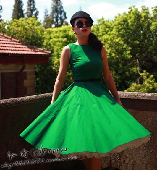 Vestido de fiesta de la vendimia 50