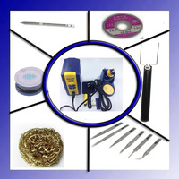 freeshipping 110/220V HAKKO 951 Fx-951 Solder Station Electric Soldering  Iron with 20 free gifts