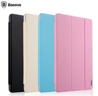 For XIAOMI MIUI MiPad Baseus Simplism Three Fold Series Smart Cover Case Flip Protective Leather Case For Mi Pad Free Shipping