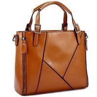 2015 Genuine Leather Bags New Shoulder Bag Fashion Women Messenger Bags Cowhide Women Leather Handbag Crossbody Bag Tote Bolsas