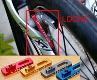 LDCNC 16 inch to 18 606 wheel change 451 groups full 7005 cnc material universal V brake to extend brake adapter Lengthen brake