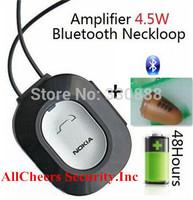 2014 Newest 4.5 Watt Powerful Amplifier Professional Bluetooth Neckloop wireless micro earpiece