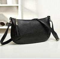 New Style Women Handbag 2015 Fashion Women Leather Handbag Natural Leather Shoulder Bag Vogue Women Messenger Bag Crossbody Bag