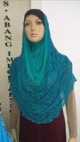 (free shipping)muslim hijab ,lace hijab ,muslim shawl 10colors 10pcs 1pcs 1 color