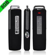 Grabadora de voz 8GB Nuevo 2014 de la alta calidad Mini USB Flash Drive USB flash grabadora de voz digital disco Y60 * DA1049 # M5(China (Mainland))