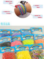 2014Fashion colorful Diy Bracelet Rubber Band gift for kids,diy Loom Bands Refills Magic Crazy,children Twistz Bandz y9