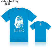 4-16year  kids hip hop Lastkings T Shirts Brand O-Neck Letter Children High Quality 100% Cotton T Shirt Clothing