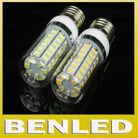 5pcs/lot E27 56LEDS 5730SMD crystal chandelier lighting,5730 220V/110V 18W LED corn bulb,Warm white/ white,E27 5730SMD Led lamps
