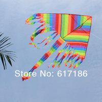 KITES Colorful Kite long Tail Kite outdoor sport park beach kite toys Easy FLY