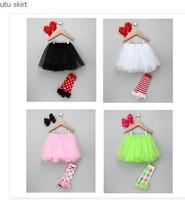 Hu Sunshine Wholesale New 2014 Summer Kids Skirt Girls Free Shipping For Rainbow Tutu