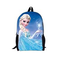 2014 children kids backpacks for girls,frozen anna elsa children's school bag,new cartoon backpacks bag,boy school backpack gift
