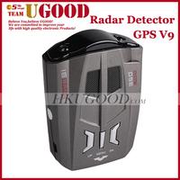GPS V9 2 in 1 Russian Radar Detector Professional Car Speed GPS Laser English/Russia Voice Alert Anti-Police Radar Detectors