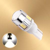 2pcs T10 W5W 194/501 led car 168 for SAMSUNG 5730 smd 501 LED Tail Signal DRL Light Bulbs Xenon White car light source