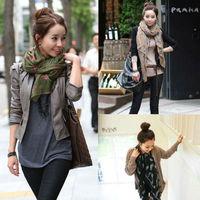 hot women scarf & wrap fashion style silk scarf polka velvet scarf & Shawl chiffon Bohemia Scarf Pashmina 70.9*29.2inch scarf020