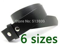 10pcs/lot Black color Snap on belt , strap belt for belt buckle, free shipping