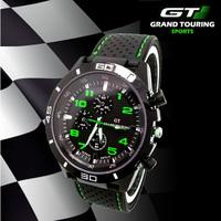 F1 Racing Sport Watch Grand Touring GT Luxury Brand Japan Quartz Movement Men Military Army Rubber Wristwatch Men's Watches