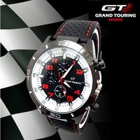2014 F1 Grand Touring GT Men Sport Quartz Watch Military Watches Army Wristwatch Fashion Men's Watches