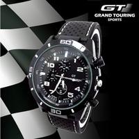 2014 Trendy Watches Silicone Brand Men Causal Sport Military Luxury Brand Wristwatches Latest Design racer watch