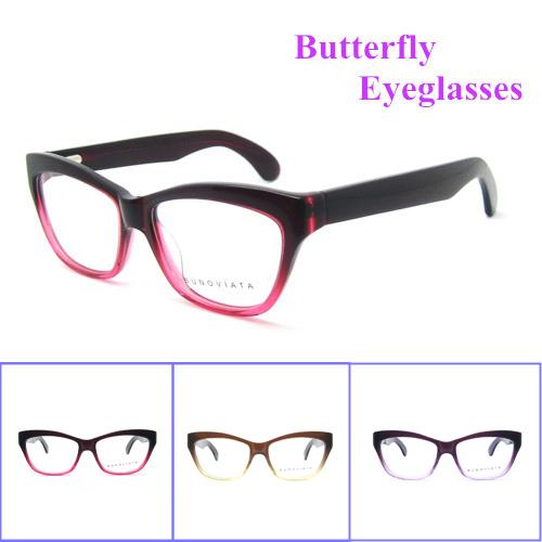 Hot 2015 New Arrival Patchwork Top fashion High quality Acetate Optical Frame Women Eye Glasses Frame Eyewear Myopia B140248(China (Mainland))