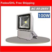 85-265V 100W LED Floodlight Outdoor 100W LED Flood light lamp wash waterproof Landscape light spot LED projector aluminium lamps