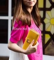 Explosion models Korean Choi H buckle side fold wallet 10 colors optional long-term supply fashion women  wallet