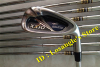 2014 New Irons Set XXI08 XX10 MP800 Golf Irons With Dynamic Gold R300 Steel Shafts Head Cover Golf Clubs #456789PAS