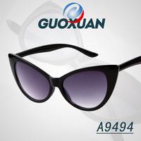 Luxury Brand For Women Cat Eye Sunglasses Punk Black Eye Glasses Gradient Lens Sunglass gafas de sol feminino