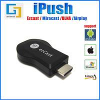 (1pc/lot)M2 EZcast media player ipush TV stick DLNA Miracast Airplay better than google chromecast compliant Windows IOS Andriod
