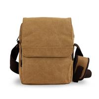 Men Messenger Bag Canvas Vintage/ Male Business Briefcase Portfolio Small Bags/ Casual Cross Body Shoulder Bag Handbag schoolbag